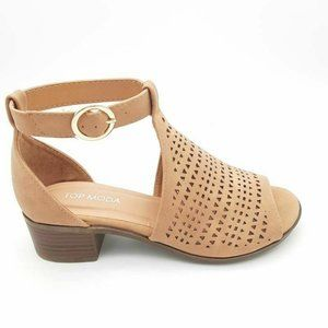 TOP MODA Womens Favor Ankle Strap Sandals NEW